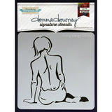 "Donna Downey Signature Stencils 8.5""x8.5"" - Finding Strength"
