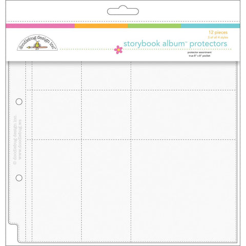 Doodlebug Page Protector Assortment 8inx8in