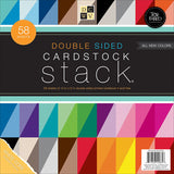 DoubleSided Cardstock Stack 12inx12in