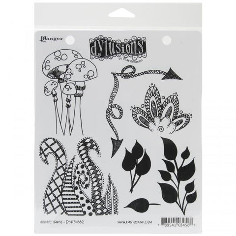 Dylusions by Dyan Reaveley Cling Stamps Doodle Parts