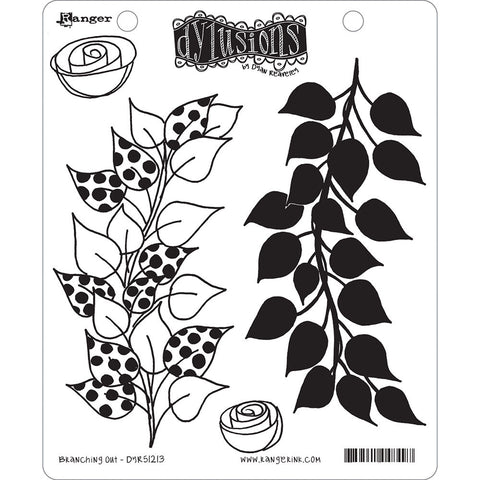 Dylusions by Dyan Reaveley Cling Stamp Collections Branching Out