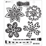Dylusions by Dyan Reaveley Cling Stamp Collections Doodle Blooms