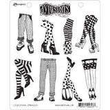 Dylusions by Dyan Reaveley Cling Stamp Collection Legs Eleven