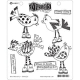 Dylusions by Dyan Reaveley Cling Stamp Collections Put A Bird On It