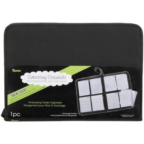 "Darice Embossing Folder Organizer (holds 5""x7"")"