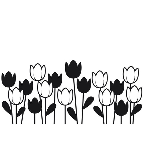 Embossing Folder Spring Tulip 4.25inx5.75in