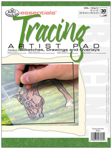 Essentials Artist Paper Pad Tracing 9inx12in