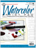 Essentials Artist Paper Pad Watercolor 9inx12in