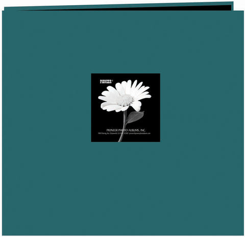 Pioneer Fabric Frame Post Bound Album Majestic Teal 12inx12in