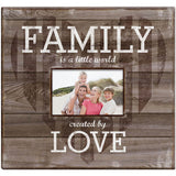 MBI Family Love Post Bound Scrapbook with Window 12inx12in
