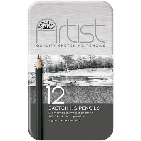 Fantasia Premium Sketching Pencil Set 12pc