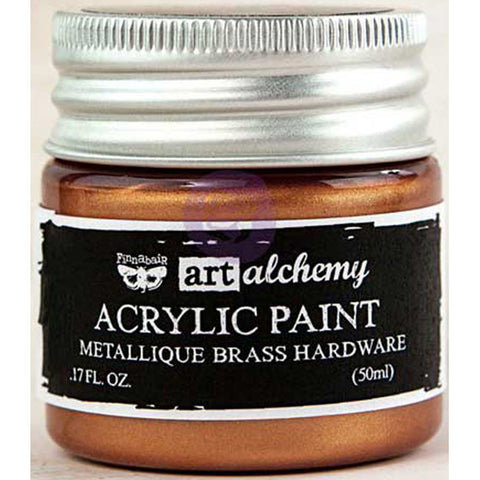 Finnabair Art Alchemy Acrylic Paint Metallique Bronze