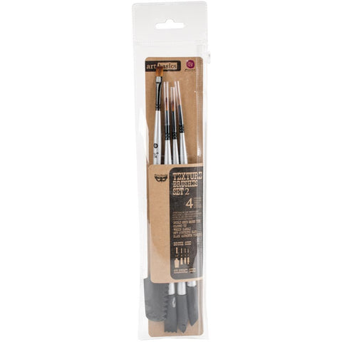 Finnabair Art Basics DoubleEnded Brush Set Texture #2