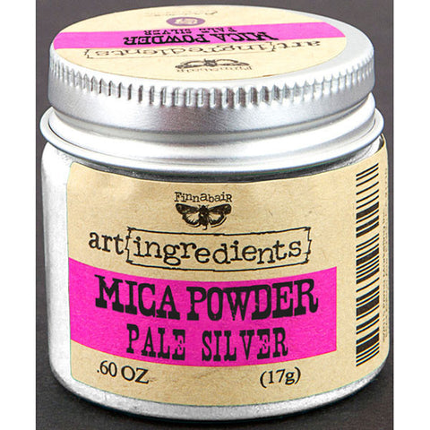 Finnabair Art Ingredients Mica Powder Silver