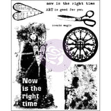 Finnabair Cling Stamps Now Is The Right Time 6inx7.5in