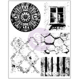Finnabair Cling Stamps 6inx7.5in Old Town 6inx7.5in