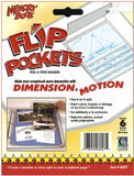 Flip Pockets Peel & Stick Holders