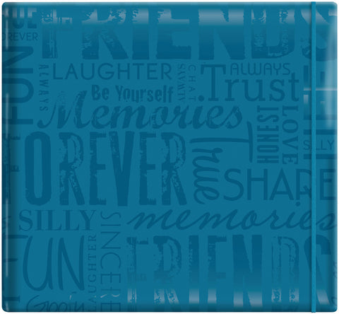 Gloss Scrapbook Friends Teal 12inx12in