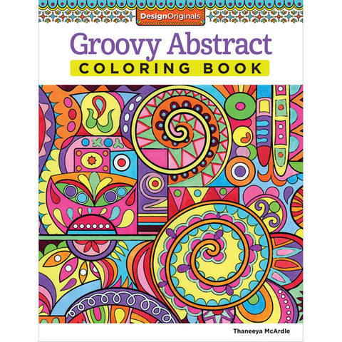 Groovy Abstract Coloring Book – Scrapbooking-Warehouse