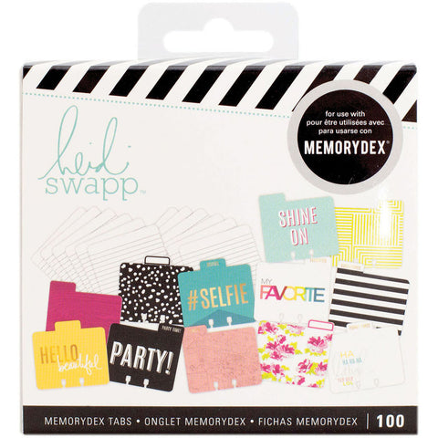 Heidi Swapp Memorydex File Cards and Tabbed Dividers Selfie