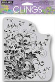 Hero Arts Cling Stamps Leafy Vines