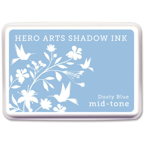 Hero Arts Midtone Ink Pads Dusty Blue