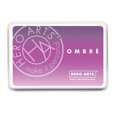Hero Arts Ombre Ink Pad - Lilac To Grape