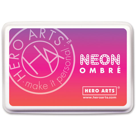 Hero Arts Ombre Ink Pad Red To Purple
