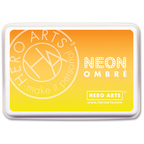 Hero Arts Ombre Ink Pad Yellow To Orange