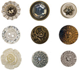 Tim Holtz IdeaOlogy Accoutrements Fanciful Buttons