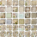 Tim Holtz Idea Ology Paper Stash Paper Pad Wallflower 12inx12in