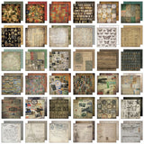 Tim Holtz IdeaOlogy Paper Stash Paper Pad Collage 8inx8in