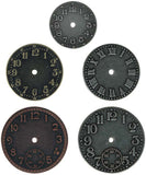 Tim Holtz IdeaOlogy Timepieces Clock Faces Nickel Brass Copper
