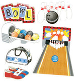 Jolee's Boutique Dimensional Stickers Bowling Alley