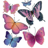 Jolee's Boutique Dimensional Stickers Butterflies