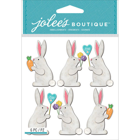 Jolee's Boutique Dimensional Stickers Easter Bunnies