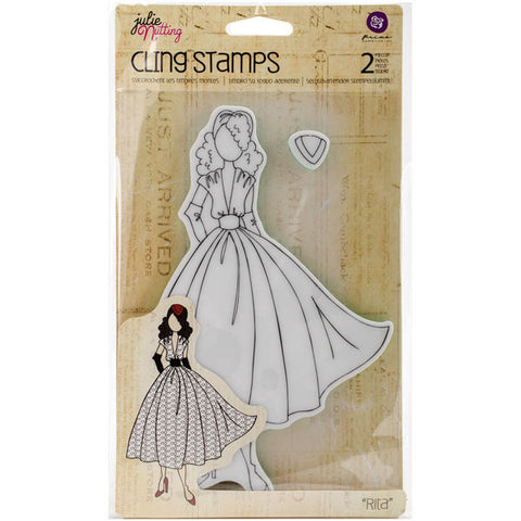 Julie Nutting Doll Cling Stamp Rita
