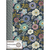KandCompany 3 Up Spiral Memo Photo Album Simple Floral