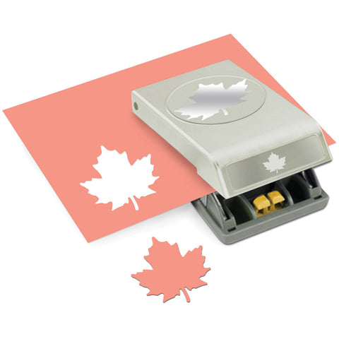 Large Paper Punch Maple Leaf