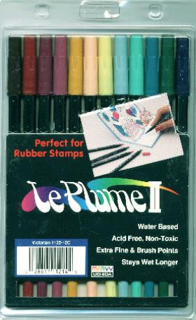 LePlume II Marker Set Victorian Colors