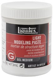 Light Modeling Paste Gel Medium 16oz