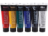 Liquitex Basics Acrylic Paint Pack Assorted Colors 6pk