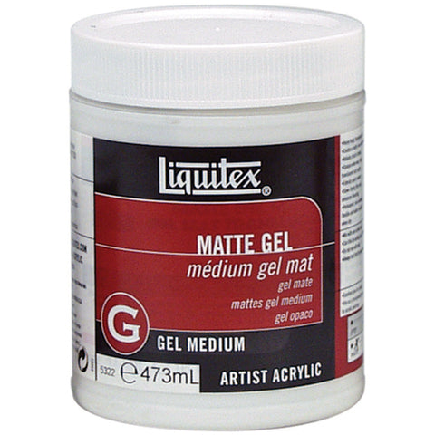 Liquitex Matte Gel Medium 16oz