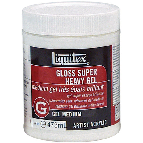 Liquitex Super Heavy Gloss Gel Medium 16oz