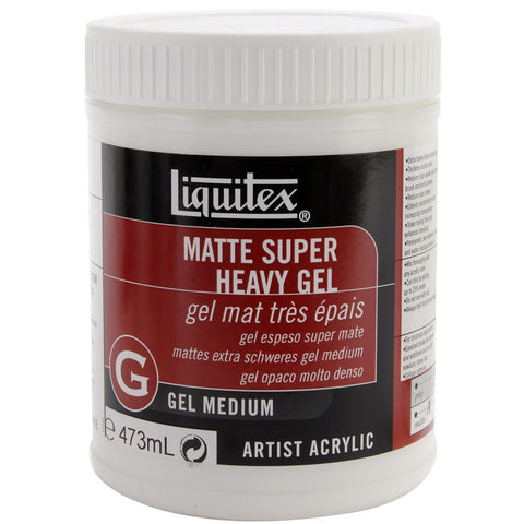 Liquitex Super Heavy Matte Gel Medium 16oz