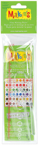 Makin's Clay Mixing Ruler 8in