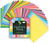 Match Makers Textured Brights Cardstock Stack 8inx8in