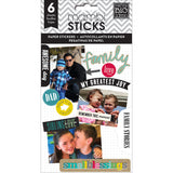 Me and My Big Ideas Pocket Pages Paper Stickers Family Love