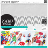 Me and My Big Ideas Pocket Pages Photo Protectors Layout #1 12inx12in