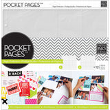 Me and My Big Ideas Pocket Pages Photo Protectors Layout #2 12inx12in